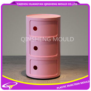 European Wardrobe Drawer Plastic Injection Mold pictures & photos