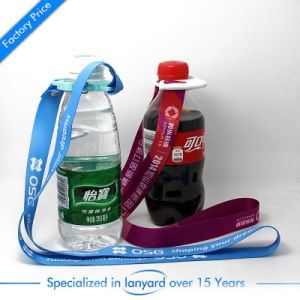 Wholesale Heat Transfer Printed Custom Bottle Lanyard From China pictures & photos
