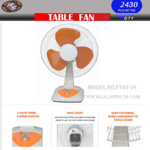 16inch Table Fan/Desk Fan New Design pictures & photos