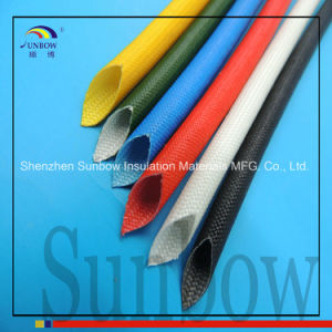 Sunbow Self Extinguish UL Silicone Resin Fiberglass Sleeving pictures & photos