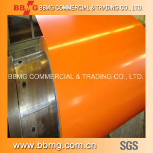 Offer Prime Prepainted Galvanized Steel Strip Coil / Color Coated Steel Coil / Ppgia Grade PPGI for Roof Sheet and Decoration Materials pictures & photos