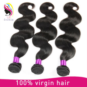 Wholesale Unprocessed 7A Grade Virgin Remy Brazilian Human Hair Extension pictures & photos