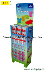 5 Layers Cardboard Floor Display Stand for Super Markets with SGS (B&C-A068) pictures & photos