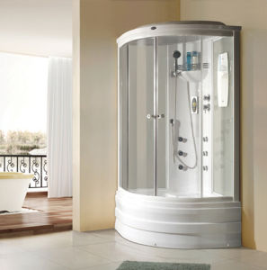 Multi-Functional Integral Steam Shower Room with FM Stereo (the whole room)