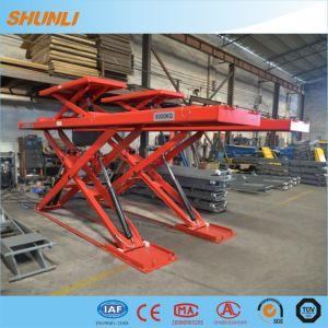 5000kg Ultrathin Wheel Alignment Scissor Lift pictures & photos