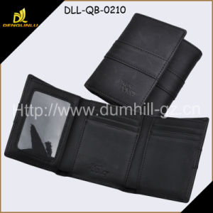 High Quality Mens Cowhide Genuine Leather Wallet with Credit Card Holder, Purse
