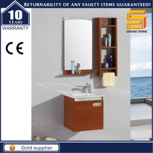 High Quality MDF Melamine Wall Mounted Bathroom Cabinet Vanity pictures & photos