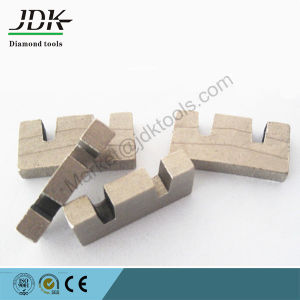 Double U Notch Shape Diamond Segment for Hard Stone Cutting pictures & photos