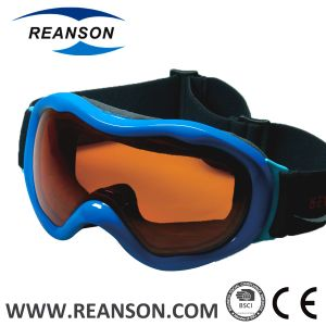 Reanson Professional Anti-Fog Double Spherical Lenses Snow Skiing Goggles pictures & photos