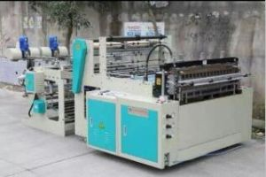 High Speed T-Shirt Bag Forming Machine pictures & photos