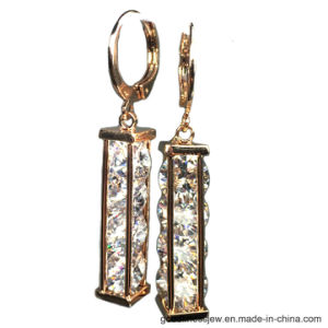 2017 Fashion Brass Earring with Plating Gold (E6855) pictures & photos