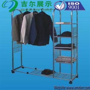 Metal Retail Wire Show Garment/Clothes/Colthing Display Rack (SLL07-002) pictures & photos