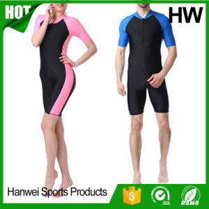 Excellent Quality Front Zipper Neoprene Surfing Wetsuits (HW-W014) pictures & photos