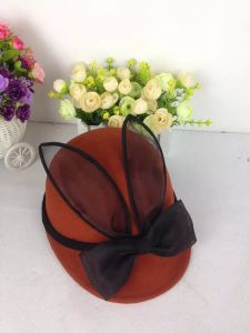 Wool Felt Bowknot Mouse Hat for Children, Animal Hat