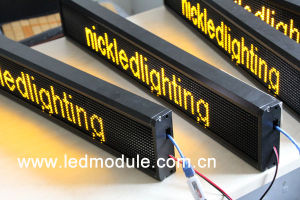 High Quality LED Moving Display Board for Bus pictures & photos