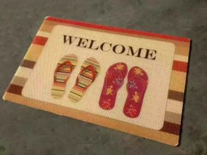 Printed Polyester Outdoor Mats pictures & photos