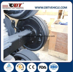Obt Semi Trailer Straight Axle with Hydraulic Drum Brake pictures & photos