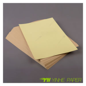 Wholesale Brown Craft Sticker Paper Manufacturer pictures & photos