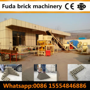 China Cheap Automatic Clay Lego Block Molding Machine Price Russia pictures & photos