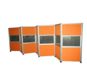 Aluminum Hospital Hotel Wheels Mobile Folding Partition (NS-NW222) pictures & photos