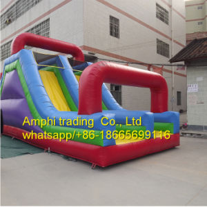 Inflatable Slide with Tunnel
