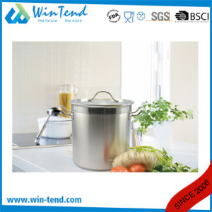 05 Style Stainless Steel Sanded Heat Conduction Impact Bonding Bottom Steam Food Stockpot pictures & photos