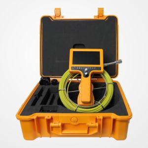 Adjustable Handle CMOS Waterproof Pipe Sewer Inspection Camera pictures & photos