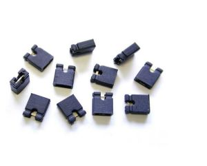2.54mm Black Circuit Board 2 Pin Header Shunts Jumper Cap Connector pictures & photos