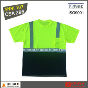 Hivis T Shirt Short Sleeves Reflective Shirt pictures & photos