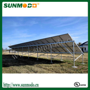 Concrete Footing Solar Panel Ground Mount System pictures & photos
