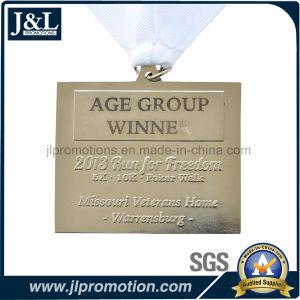 Customer Design Medal with Laser Engraving Text pictures & photos