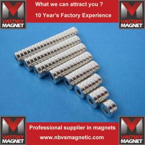 Custom Made Small Big Ring Neodymium Iron Boron Magnet pictures & photos