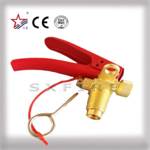 CO2 Fire Extinguisher Valve 1-7kg Brass Material pictures & photos