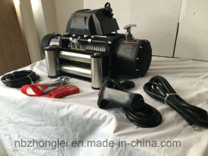 Electric Winch Odd-Road Winch Steel Rope Winch (12000LB) pictures & photos