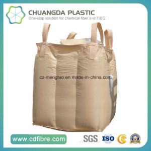 Cross Corner FIBC PP Woven Big Bags with Baffle Inside pictures & photos