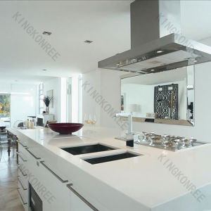 Building Material Custom Made Acrylic Solid Surface Kitchen Tops (170922) pictures & photos