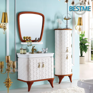 Europe Style Modern Bathroom Cabinet (BF-8067) pictures & photos