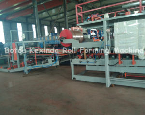 Sandwich Wall and Roof Panel Making Machinery pictures & photos