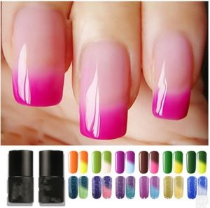 Temperature Variation Glue Nail No Smell Glossy UV/LED Gel Nail Polish Colour Gel pictures & photos