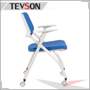 National Standard School Fabric Foldable Chair pictures & photos