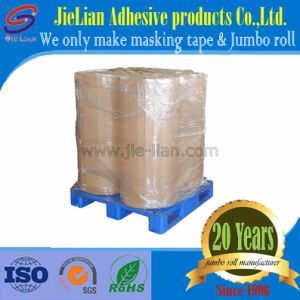 Good Supplier High Temperature Adhesive Masking Tape Jumbo Roll pictures & photos