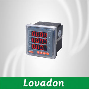 Best Sell 96*96mm Dt194u-9X4 Three Phase Digital Voltage Meter/ Volt Meter pictures & photos