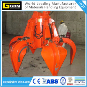 Hydraulic Scrap Electric Orange Peel Grab Bucket for Plants pictures & photos