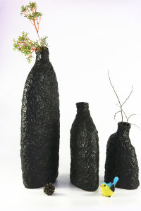 Hot Selling Black Matte Handmade Ceramic Craft Ornaments pictures & photos