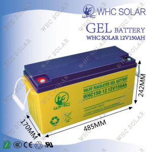 Deep Cycle Sealed Free Maintenance 12V 150ah Gel Storage Battery pictures & photos