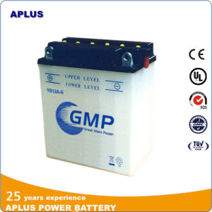 Conventional Lead Acid Dry Charge Motorcycle Battery Yb12A-a 12V 12ah pictures & photos
