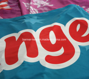 Shiny Full Color Polyester Fabric Banners (SS-SF-83) pictures & photos