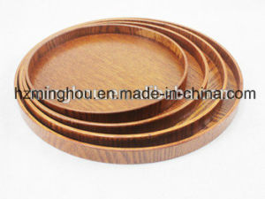 Home Kitchen Cheese Serving Tray Daily Used Tabletop Wooden Food Trays pictures & photos