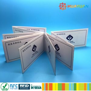 13.56MHz Infineon SLE66R01L HF RFID Conjoined paper Transportation card pictures & photos
