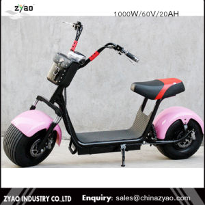1000W New Fashion Electric Scooter Harley Two Wheel Mobility Scooter pictures & photos